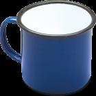 50019BL 9cm mug blue shad