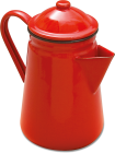 62013RD 13cm coffee pot red shad