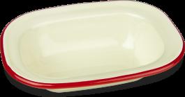 644016 16cm oblong pie dish shad