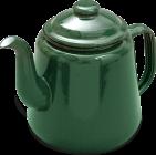 69614GN 14cm teapot green shad